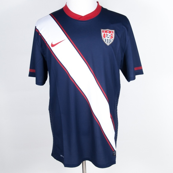 c6d20fc3ba7 Nike Shirts | New Usmnt Usa 2010 World Cup Authentic Jersey | Poshmark